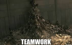 Teamwork Memes - zombie teamwork