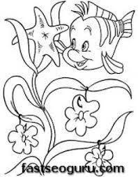 34 coloring pages ariel mermaid kids fun uk