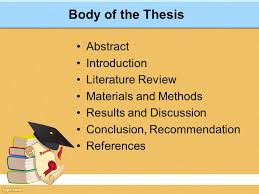thesis abstract how to write an effective fyp thesis ppt download