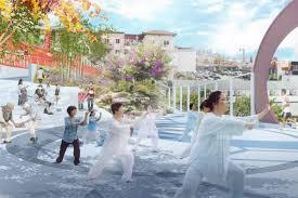 renderings revealed for chinatown pocket park urbanize la