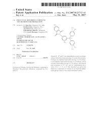 patent us20070123713 polycyclic dihydroxy compound and methods