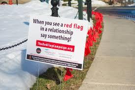 The Red Flag Campaign Millersville Addresses Dating Violence U2013 Millersville News