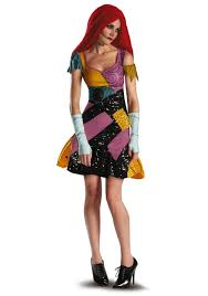 plus size sally glam costume for