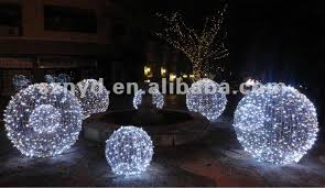 large outdoor christmas lights christmas ball large scale lighting buy tierra este 64390