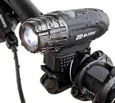 bright usb rechargeable bike light blitzu gator 320 powerful b