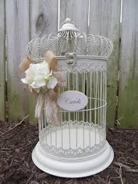 wedding wishes card box your colors wedding bird cage card holder wedding