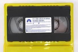 paramount pictures a brown thanksgiving vhs animated