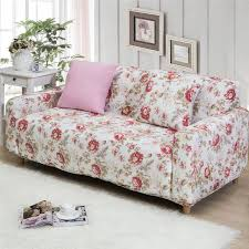 canapé polyester seat stretch sofa cover 2017 design flower printed housse