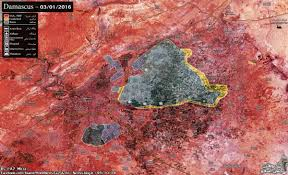 Syria Situation Map by Day Of News On The Map January 04 2017 Map Of Syrian Civil