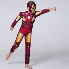 new iron man 3 iron patriot muscle child superhero halloween