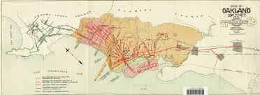 Forgotten Shore Map A Brief History Of Berkeley U0027s Trolley System The Daily Californian