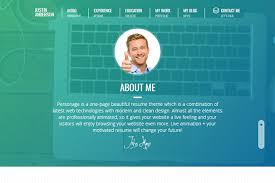 Best Personal Resume Websites by Curriculum Vitae Website Template Resume Website Template Resume