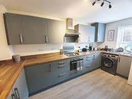 painting kitchen cabinets frenchic savvy homeowner transforms kitchen into stylish space for
