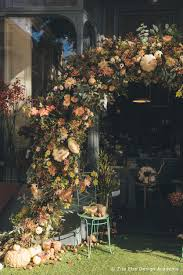 autumn flower arch zita elze flowers