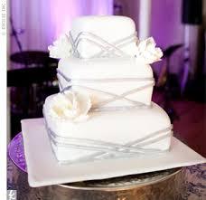 square wedding cakes modern wedding cakes