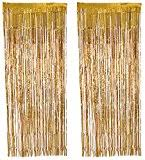 Gold Foil Curtain by 5 Gold Foil Curtains Amazon Co Uk Toys U0026 Games