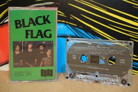 Black Flag Nervous Live U002784 By Black Flag Vintage Cassette Tape