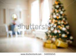 defocused background christmas living room christmas stock photo