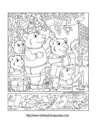 easy hidden picture coloring pages redcabworcester redcabworcester