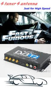 tuner cars cars movie car dvb t2 4 tuner 4 antenna digital tv receiver for high speed