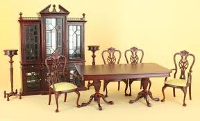 Dollhouse Dining Room Furniture Kingston Dining Room Set By Bespaq 3490 Gde Nwn Set 250 00