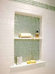 bathroom niche ideas the colors bathroom nook feature wall tub shower combo