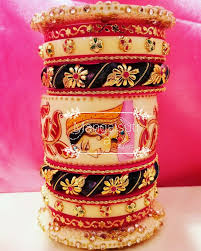 indian wedding chura pin by jyoti yadav on bangles bangle gold jewellery