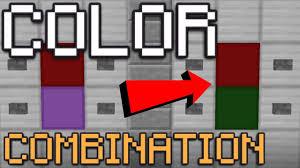 minecraft color combination lock redstone tutorial youtube