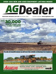 new holland 1431 discbine operators manual agdealer western ontario edition november 2015 by farm business