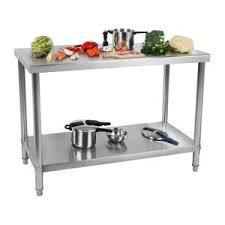 plan de travail cuisine professionnelle plan de travail inox professionnel achat vente plan de travail