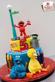sesame street cakes cupcakes