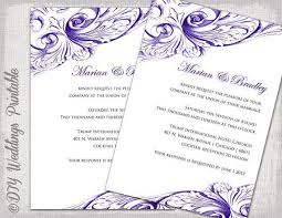 wedding invitations template word cards officecom wedding