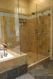 shower brown ceramic tile bathroom floor tile ideas for small