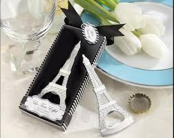bridal shower party favors 100pcs la tour eiffel tower chrome bottle opener wedding bridal
