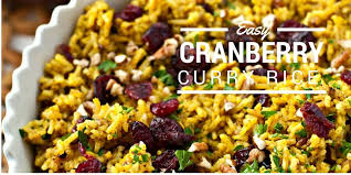Cranberry For Thanksgiving Cranberry Pecan Curry Rice U2022 Food Folks And Fun