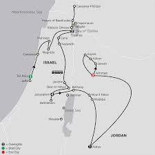 Jordan World Map by Biblical Tour Of Israel With Jordan Cosmos Faith Tours