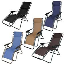 Lounge Chairs Patio by Folding Chaise Lounge Chair Patio Outdoor Pool Beach Lawn Recliner