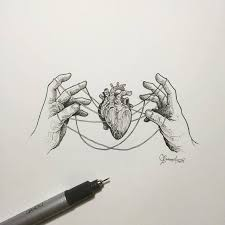 615 best hearts images on pinterest anatomical heart drawings