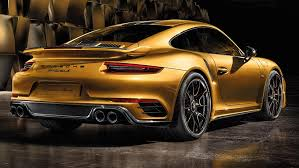porsche 911 turbo s exclusive series looks good in new images 7