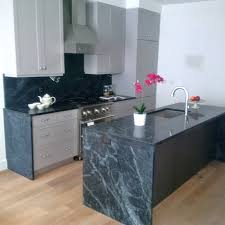 kitchen cabinets in brooklyn shaker gray lacquer cabinets soapstone counters kitchencabinets