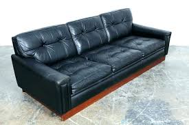 modern black and white leather sectional sofa modern black leather sofa vintage mid century modern black leather