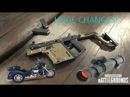 pubg new update pubg changes new weapons new vehicle new attachment fps