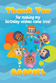 My Birthday Invitation Card Bubble Guppies Birthday Invitation U2013 Kinderwick Birthday Invitation
