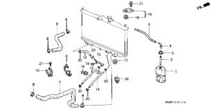 2000 honda accord lx parts honda store 2000 accord radiator hose parts