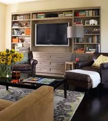 Den Ideas Built In Like The Media Storage Under The Tv Have Drawers For