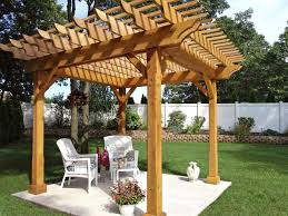 Pergola Post Design by Pergola Plans And Inspiring Ideas For More Attractive Outdoor Room