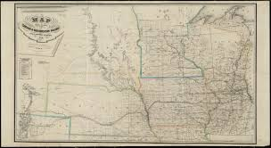 Map Of Wisconsin And Minnesota by Map Showing Location Of The Chicago U0026 Northwestern Railway With