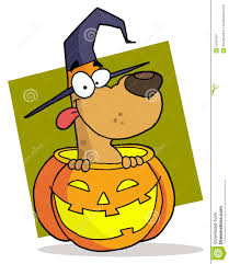 cartoon halloween picture cartoon character halloween dog stock image image 15309781