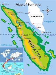 Map Of Jakarta Sumatra Map U0026 Flights Bukit Lawang Jungle Trekking And North