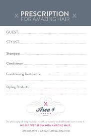 client profile cards for hair stylist client data profile